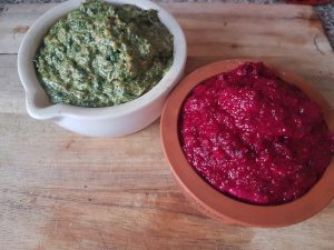 Chard and Tahini Dip